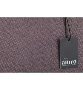 Abażur z tkaniny brązowy Aluro L