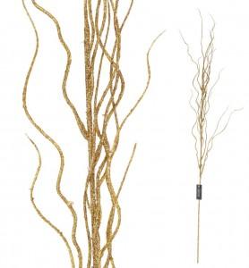 Roślina sztuczna - gałązki złote Aluro