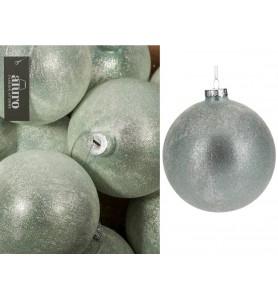 Bombka szklana PANDIRA cristal-silver Aluro