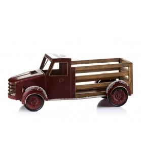 Samochód świąteczny bordowy L Aluro