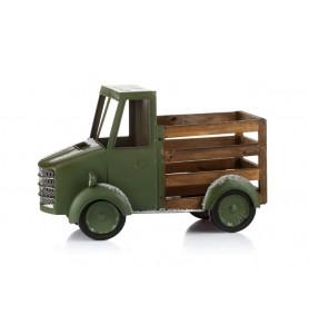 Samochód świąteczny zielony XL Aluro