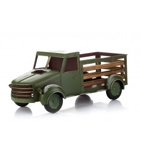 Samochód świąteczny zielony XXL Aluro