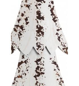 Choinka metalowa biała vintage & style XL Aluro