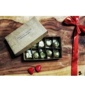 Woski sojowe zapach Kokos Pralinki Prezent