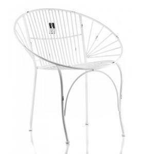 Fotel metalowy ABRO Aluro