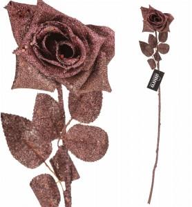 Roślina sztuczna -róża miedziana Aluro