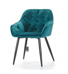Krzesło tapicerowane PICADO blue Aluro
