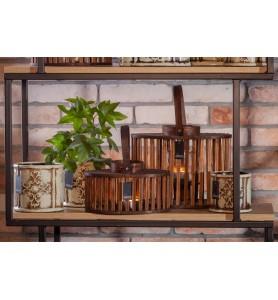 Latarnia, klatka z drewna CATALANA Aluro M