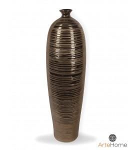 Wysoki wazon miedziany 55 cm