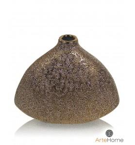 Złoty wazon 18 cm