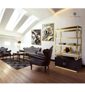 Regał Murano Gold