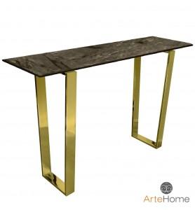 Konsola Ekskluzywna Madera gold/brown