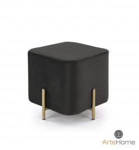 Pufka Ekskluzywna Cube gold/black